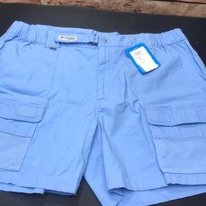 Columbia PFG half moon shorts XL NWT Men's J1